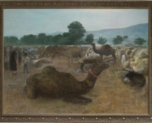 Kamelmarknaden i Pushkar